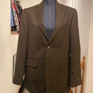 Brown Tasso Elba men's blazer